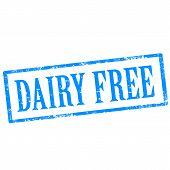 Dairy Free-stamp
