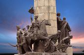 picture of hetman  - Monument to the heroes of the liberation war of 1648 - JPG
