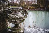 Tajo river.Palace of Aranjuez, Madrid, Spain