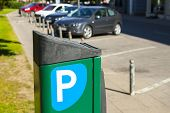 foto of mandates  - Automatic charge a fee for parking - JPG