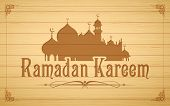 stock photo of ramadan mubarak  - illustration of Ramadan Kareem  - JPG
