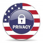 privacy american icon