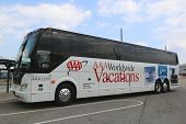 AAA Worldwide vacations bus