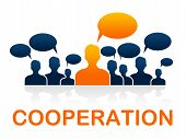 Teamwork Alliance Represents Together United And Partnership