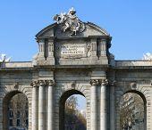famous Puerta de Alcala, Madrid, Spain