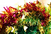 Blessing Tinsels - Green, Pink And Yellow
