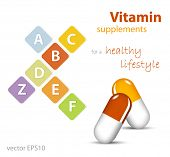 Vitamins - nutritional supplements