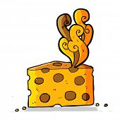 picture of smelly  - cartoon smelly cheese - JPG