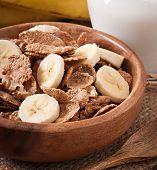 stock photo of whole-grain  - Healthy breakfast  - JPG