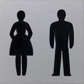Toilet Sign, Women And Man