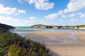 Porth beach Newquay Cornwall England UK