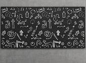 Arrow Icons On Blackboard