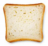 Piece Of Toast Bread