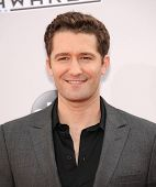 LOS ANGELES - NOV 23:  Matthew Morrison arrives to the 2014 American Music Awards on November 23, 2014 in Los Angeles, CA