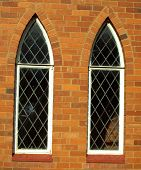 Church lead windows.