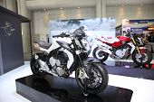 Bangkok - November 28: Agusta Brutale 675 Motorcycle On Display At The Motor Expo 2014 On November 2