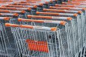Shopping Carts Hypermarket Obi