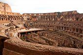 Roman Colosseum In Rome