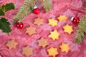 Star Christmas cookies