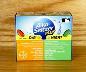 Box Of Alka-seltzer Plus Day And Night