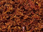 Bacon Bits Texture Background