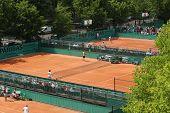 Roland Garros 2010 - Courts
