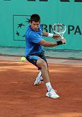 Novak Djokovic (srb) At Roland Garros 2010