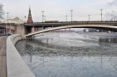The Moscow Kremlin.