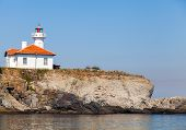White Lighthouse On St. Anastasia Island