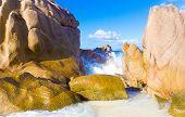 Foam Waves Seascape