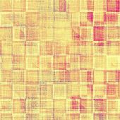 Abstract old background or faded grunge texture. With different color patterns: orange; brown; yellow; pink