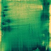Art grunge vintage textured background. With different color patterns: green; yellow