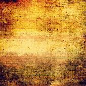 Grunge background or texture for your design. With different color patterns: orange; brown; yellow