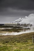 Icelandic Geothermal Power Station