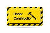Under Construction Vector Illustration Sign