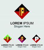stock photo of letter p  - Letter P logo - JPG