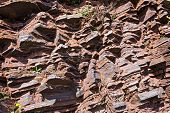 stock photo of shale  - Fragment of shale rock  - JPG