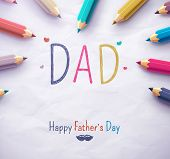 stock photo of happy day  - Poster for Happy Father - JPG