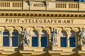 foto of old post office  - austria - JPG