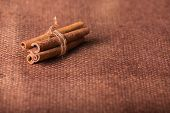 stock photo of cinnamon  - Cinnamon - JPG