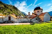 picture of nicholas  - St. Nicholas church in Kotor old city, Montenegro ** Note: Visible grain at 100%, best at smaller sizes - JPG