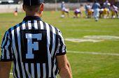 Schiedsrichter - American-Football-Spiel offiziell - Schiedsrichter