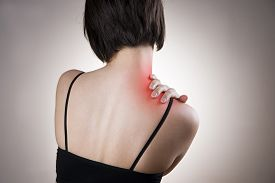 picture of red-necked  - Pain in the neck of women - JPG