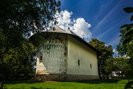 foto of suceava  - Arbore church - JPG