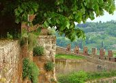 Orvieto Battlement 1