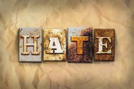 image of hate  - The word  - JPG