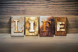 stock photo of pro-life  - The word  - JPG
