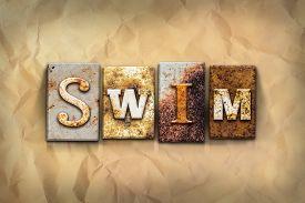 stock photo of swim meet  - The word  - JPG