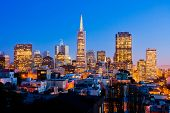 San Francisco at night