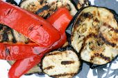 Grilled Vegetables (Eggplant And Peppers)